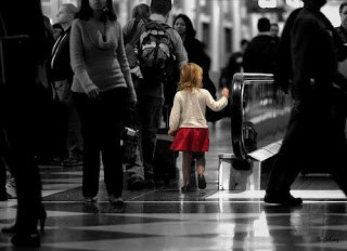 Lost Child in a Crowd